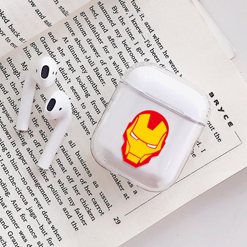 Ironman Airpods Case With Fancy Design and Strong Build Quality - bezzy-tech