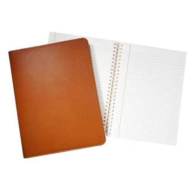 Leather Refillable Notebook 9