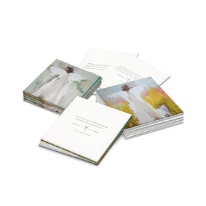 Anne Neilson Charlotte Angel Artist Comfort Scripture Cards. Encouraging gifts at paper twist