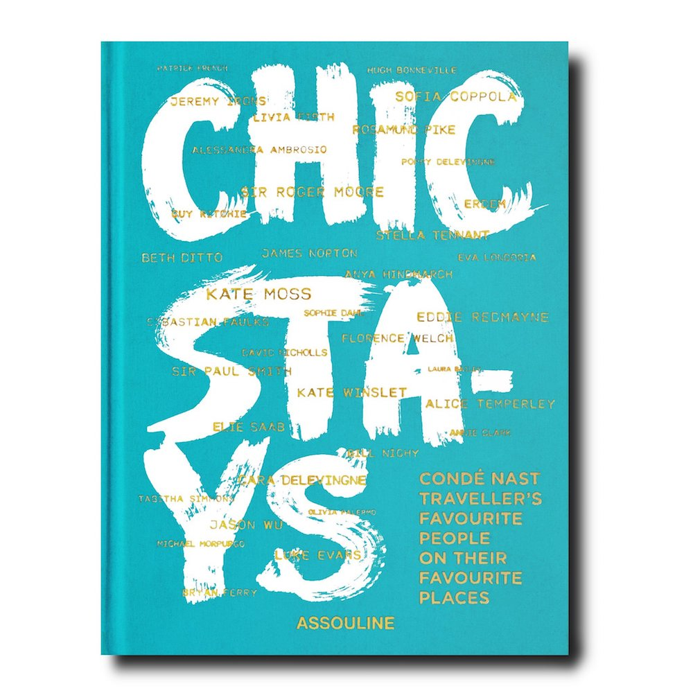 Chic Stays Assouline Travel Book