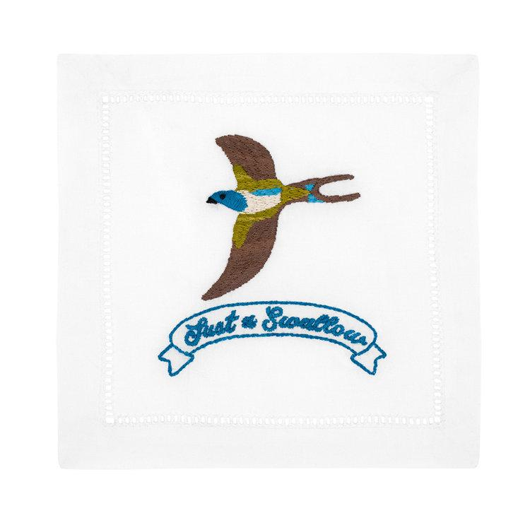 Cocktail Napkin Just a Swallow
