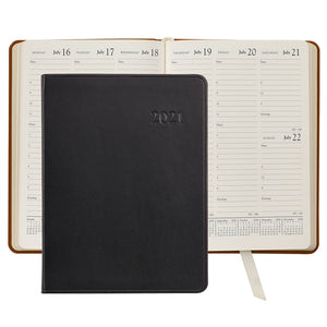 Leather Desk Diary - Traditional