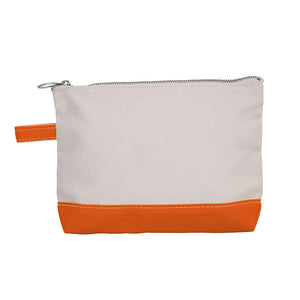 Canvas Monogram Travel Pouch