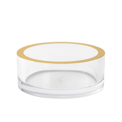 Clear Lucite Coaster Holder