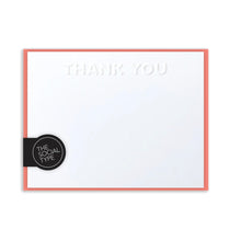 Load image into Gallery viewer, Coral thank you notes