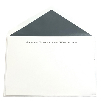 Thermography Stationery 101