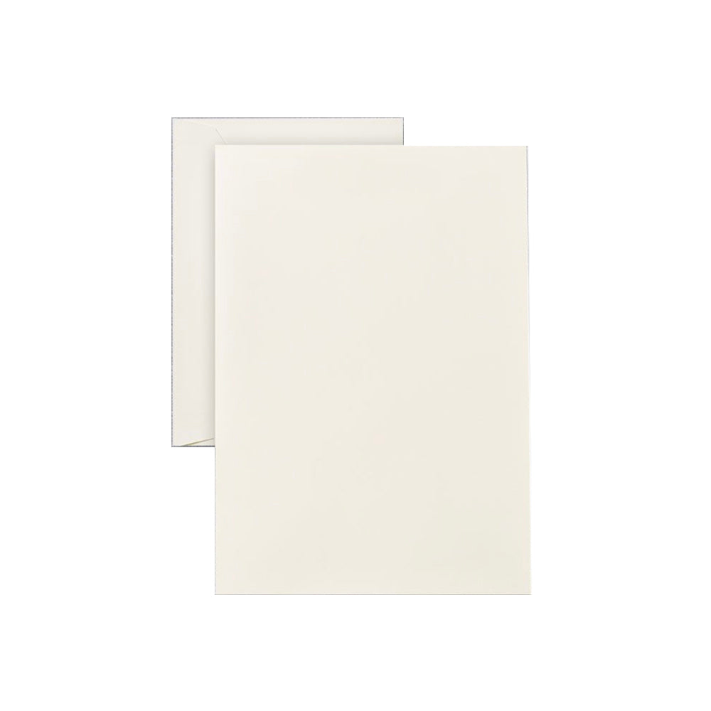 Plain Boxed Ecru Ivory Correspondence Sheet Business Stationery Shop Small Stationary Paper Notecard Snail Mail Charlotte