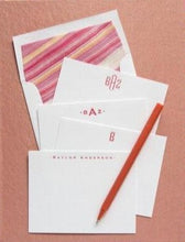 Load image into Gallery viewer, Letterpress Grand Silk Stationery 109