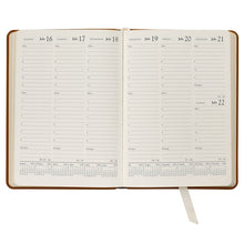 Load image into Gallery viewer, Leather Calendar at a glance. Get organized at paper twist in charlotte