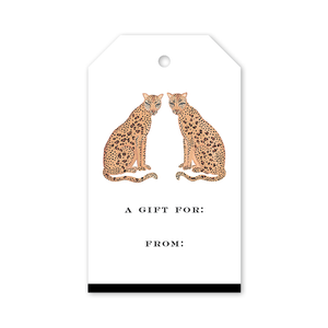 Gift Tags Leopard