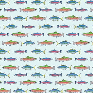 Gift Wrap Trout