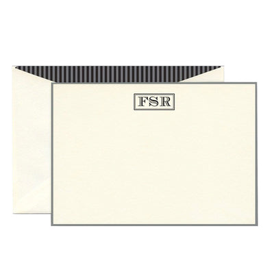 Thermography Stationery Bordered 202