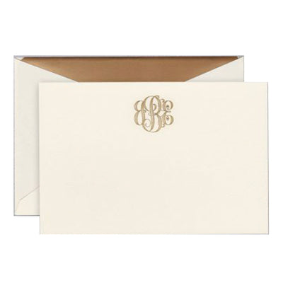 Engraved Stationery 104