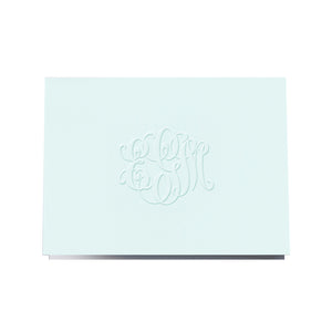 Blind Embossed Folded Note 102