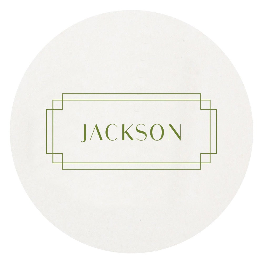 Letterpress Family Name Coaster Hostess Gifting Shop Small Local Realtor Gift Charlotte