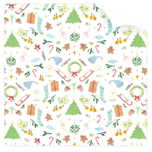 Favorite Things Dixie Designs Holiday Gift Wrap Drawer Liner Charlotte