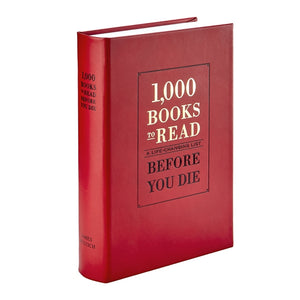 1000 Books to Read Red