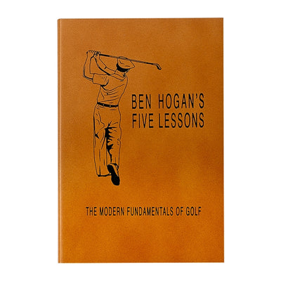 Ben Hogan Golf Lessons Leather bound book. Shop desk accessories and gifts at paper twist in charlotte