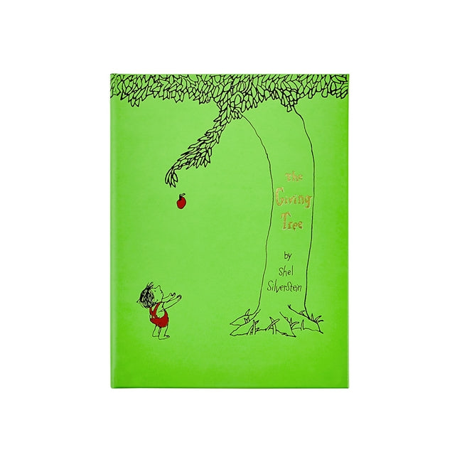 The Giving Tree leather bound book. Shop baby shower nursery gifts at paper twist in charlotte