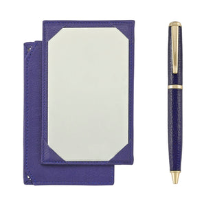 Jotter and Pen Set Indigo