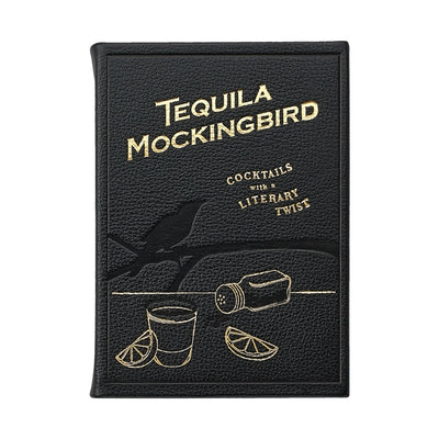 Tequila Cocktail Recipe Book Leather Hostess Gifts Paper Twist Charlotte