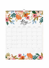 Load image into Gallery viewer, Wall Calendar Garden Blooms