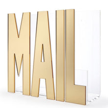 Load image into Gallery viewer, Acrylic Mail Holder. Shop desk accessories at paper twist in Charlotte