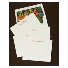 Load image into Gallery viewer, Letterpress Grand Silk Stationery 106