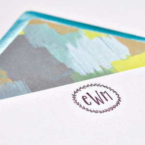 Letterpress Stationery 201