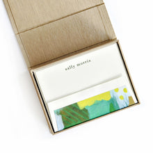 Load image into Gallery viewer, Petite Box Letterpress Notecard Correspondence Stationery Stationary Shop Small Local Charlotte Gifting