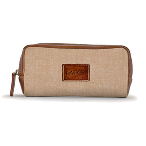 Highclere Case Tan Chambray