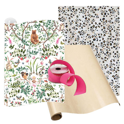 Holiday Gift Wrap Woodland Wonder