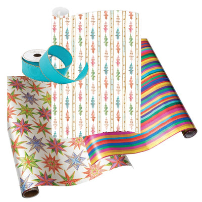 Holiday Gift Wrap Multicolored Magic