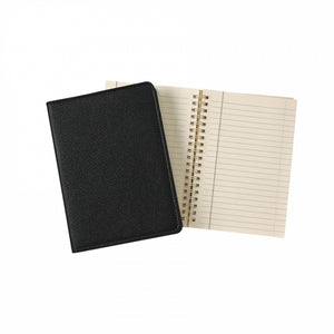 "Leather Refillable Notebook 7"" Traditional"