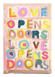 Love Opens Doors Acrylic Art