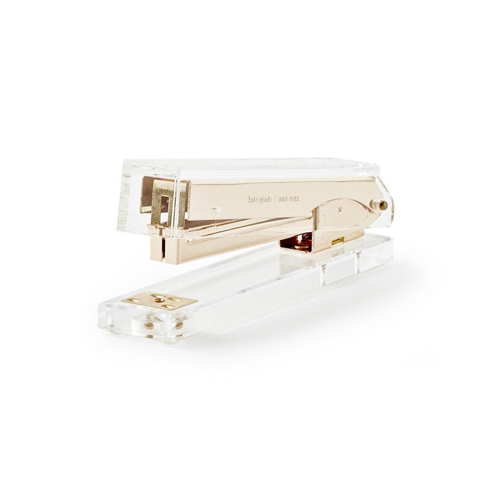Lucite Clear Stapler Shop Small Charlotte