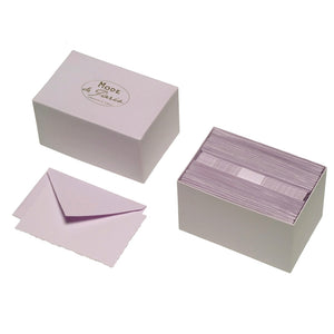 Purple Notes Boxed Stationery Stationary Thank You Correspondence Shop Small Charlotte