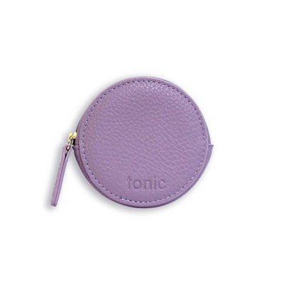 Small Round Pouch Lilac