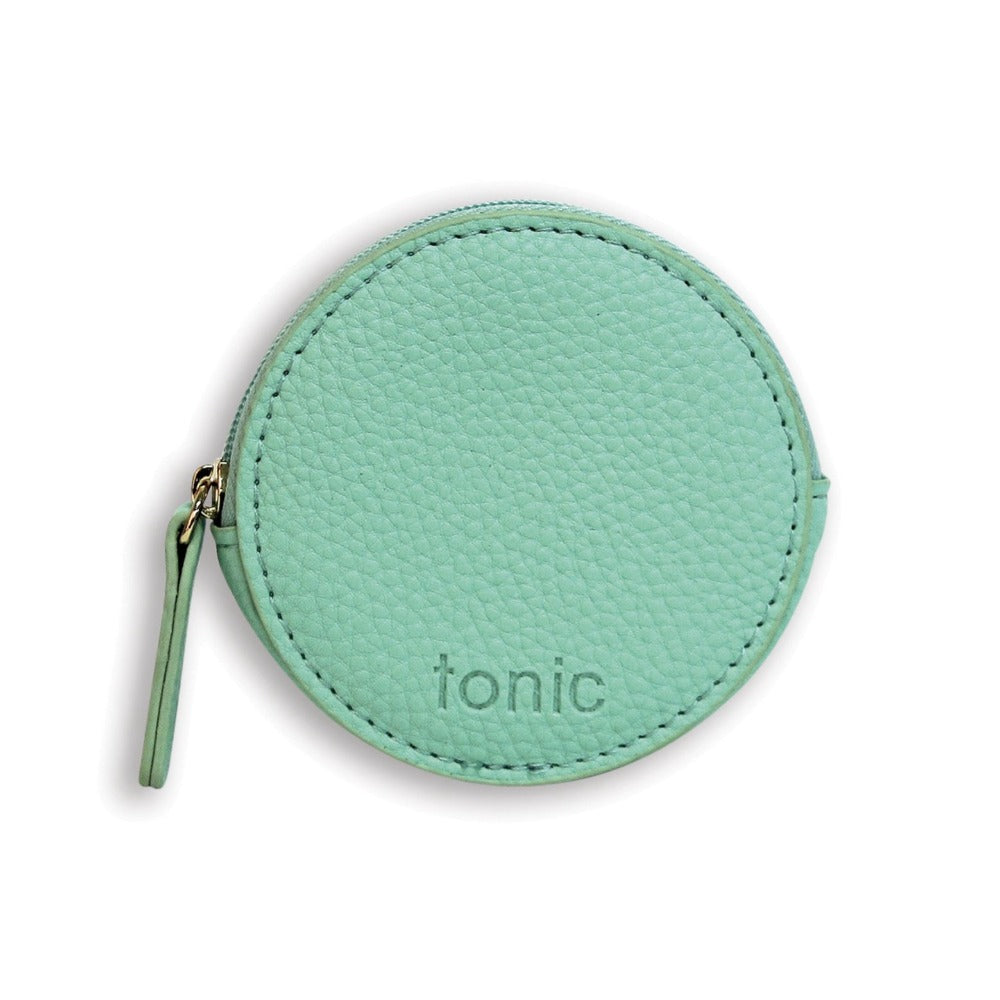 Small Round Pouch Mint