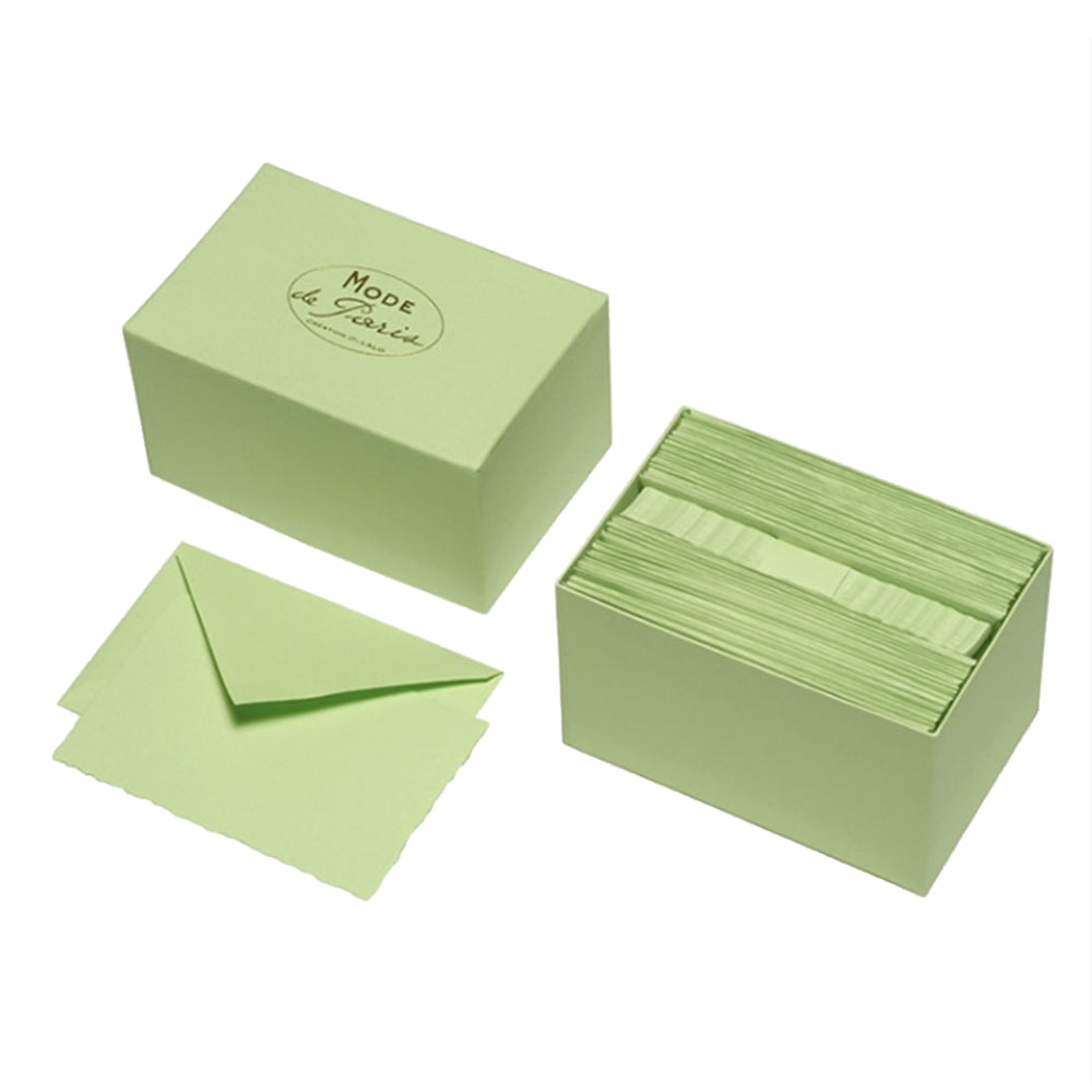Green Notes Boxed Stationery Stationary Thank You Correspondence Shop Small Charlotte