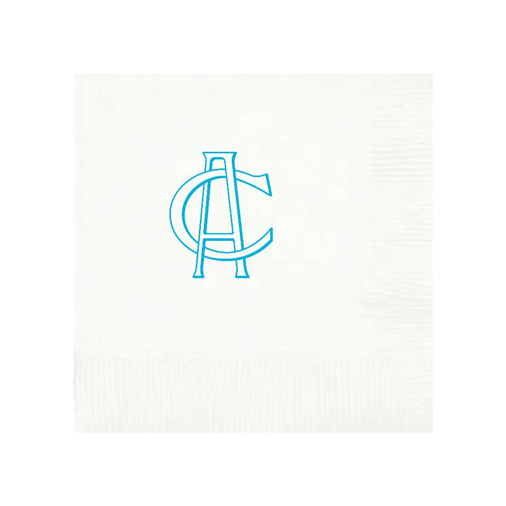 Personalized Napkin Monogram Party
