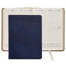 Load image into Gallery viewer, Leather Desk Diary - Traditional
