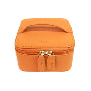 Jewelry Cube Orange Zippered Gifts for Her