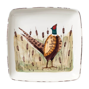Wildlife Pheasant Platter Vietri Shop entertaining and home at paper twist in charlotte