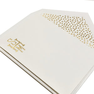 Engraved Stationery Petite 303