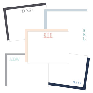 Personalized Stationery Stationary Notecards Shop Small Local Charlotte