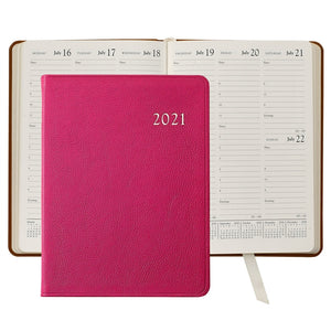 Leather Calendar Agenda Personalized. Get Organized at paper twist in 2021
