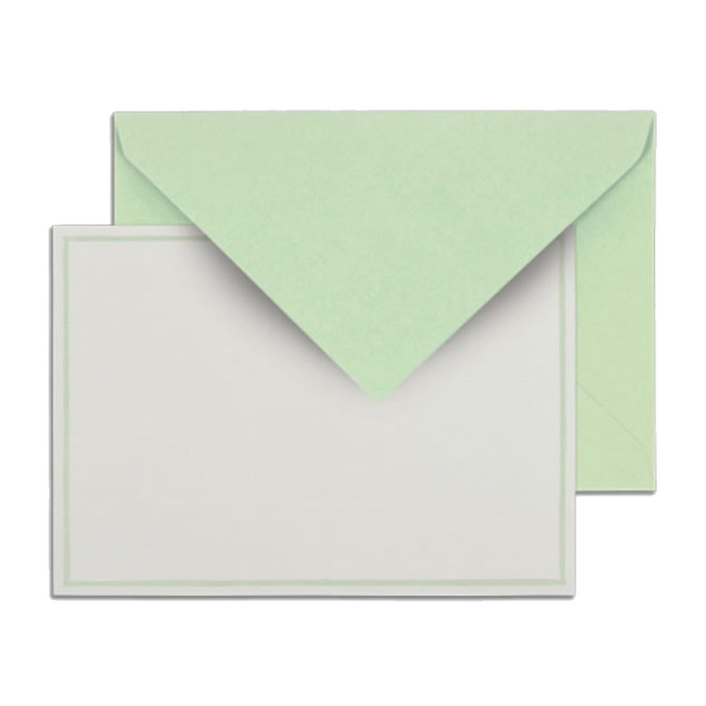 Light Green Notes Boxed Stationery Stationary Thank You Correspondence Shop Small Charlotte
