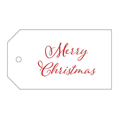 Gift Tags Red Christmas
