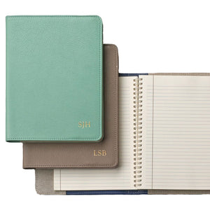 "Leather Refillable Notebook 7"" Bright"